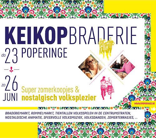KEIKOP Braderie van Poperinge